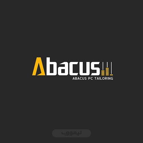 طراحی لوگو شرکت آباکوس