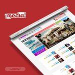 طراحی سایت یک مدیا فیلم و سریال