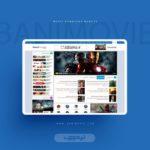 طراحی وبسایت بانی مووی